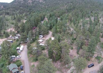 Campsites at RV Park Estes CO