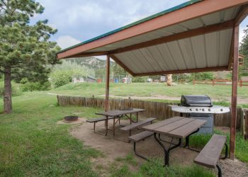 Three Bears Cabin 8 at RV Park Estes CO