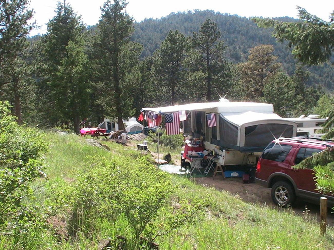 Campgrounds Near And In Estes Park Colorado