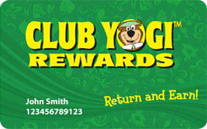 Yogi Bear's Jellystone Park Club Yogi Rewards