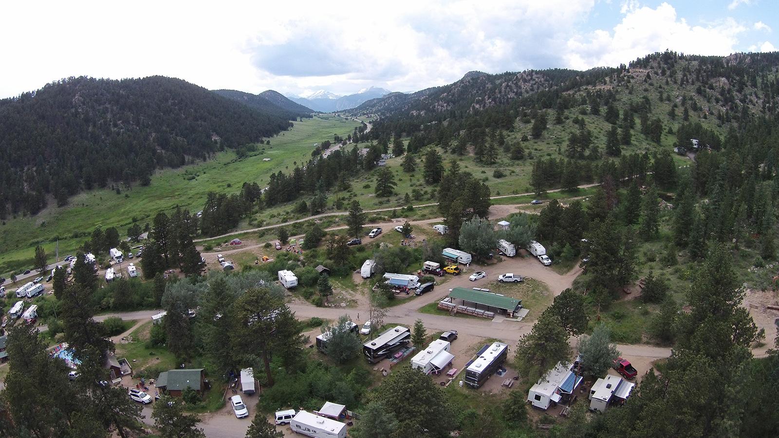Estes Park Campground Estes Park Camping Jellystone Of