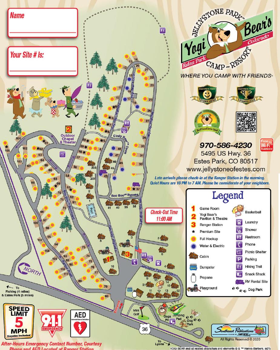 park map 2021